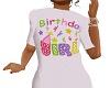 kids birthday girl tee