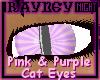 [R] Pink n Purp Cat eyes