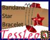 Bandana Star bracelet