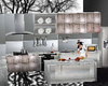 silver kitchen