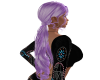 Lilac Ponytail Hair