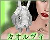 Bunny Shoulder Pet-White
