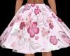 Floral Pink Skirt/SP