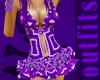 Purple Toxic Rave Dress