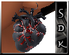 #SDK# DarkHeart LEarring