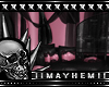 Gothic Pvc Pink Couch 2