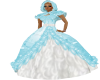 Winter Blue Gown