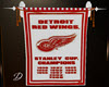 *D* Red Wings Banner