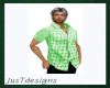 JT Denim Plaid Green