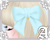Lovely Ribbon Clip~ Blue