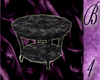 *B4* Black Marble Table
