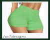 JT Lime Shorts