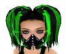 Toxic Dub Hair w/ Goggle