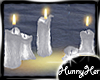 Romantic Melting Candles