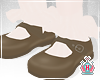 Kids Brown Mary Janes