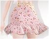 Pale Floral Skirt