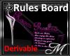 Rules Board - Req
