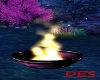 pink pvc fire pot