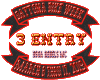Daytona Raffle Ticket 3