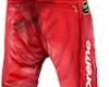 LEATHER BONES PANTS