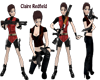 Claire Redfield Sticker