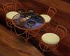 Romanitc kiss table
