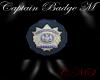 Captains Badge M