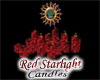 Red Starlight Candles