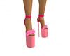 Pink xmas girl heels