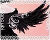Fancy Angel Wings |Black