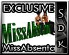 #SDK# Exclusive MissAbs