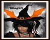 Witchy Bat Hat
