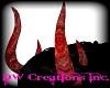 llDWll Red Demon Horns