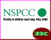 NSPCC Sign