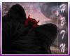 {HG} Devilish Hair Bow