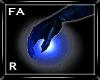 (FA)HandFire Blue R.