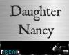 lFl  Our little Nancy