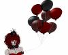 Stiches Balloon Red Blk
