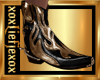 [L] GOLD FLAME Boots M