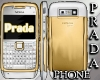 (RO) Prada Phone gold