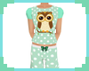[S] Mint Owl Pyjamas