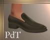 PdT Loafer Dk TaupeNoSox