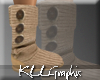 [K Cardy Ugg Boots Beige