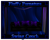 Fluffy Swinging Couch