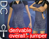 [DC] Overall-Jumper