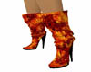 Red Hot Lava Boots