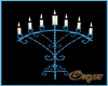 Wed. Blue Candle 1