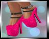 Hot Pink Heart Heels
