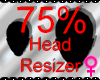 *M* Head Resizer 75%