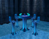 Mystic Blue Table.Chairs